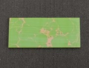 1pc Green marble K009 reconstituted stone blanks 30 x 70 x 1.5mm