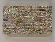 1pc Green abalone dark laminated sheet 135x235x1.5mm