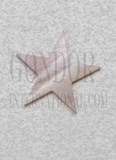 1pc Pink mussel 5p star 15x1.5mm