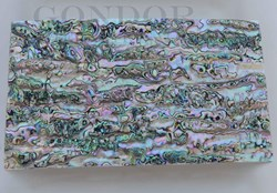 1pc Green abalone flexible sheet 140x240x0.1mm