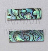 1pc Paua blanks 8.5x30x1mm