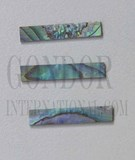 1pc Paua strips straight 5x25x1.3mm