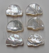 1 set White Mother of Pearl tuning peg set