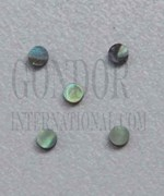 1pc Paua dots 1.5x1.3mm