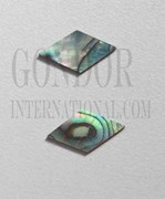 1pc Paua diamonds 10x18.3x1.5mm
