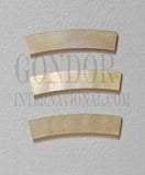 1inch Gold MOP strips curved 5xRx1.3x110mm