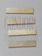 1pc Gold MOP strips straight 5x25x1.3mm