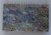 1pc Paua laminated sheets B 135x235x1mm