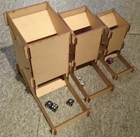 Dice Tower - portable