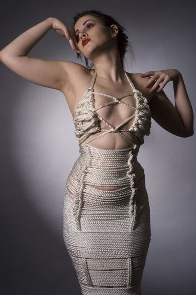 Shibari couture and bondage rope