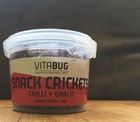 VitaBug Snack Crickets- Chilli & Garlic