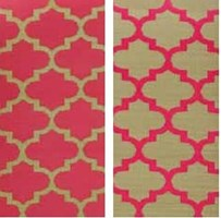 Tangier Pinkberry - Outdoor Rug