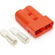 2 pole Connector 50Amp Red