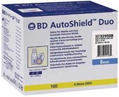 BD AutoShield Duo Safety Pen Needle 8mm 30G