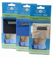 Diabete-Ezy Comfy-pump Belt - Black