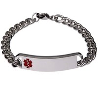 Mediband Classic Bracelet Red