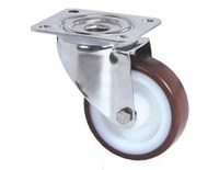 Castor 80mm stainless swivel tente 8470UAD080P62-M