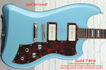 GUILD T-BIRD IN Pelham Blue incl Deluxe Gig Bag