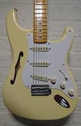Fender Eric Johnson Thinline Strat  Vintage White