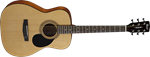 CORT AF510 SMALLER BODY STEEL STRING ACOUSTIC GUITAR
