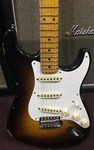 Fender CS  Fat 50's Relic Stratocaster Wide Faded 2 Tone Sunburst