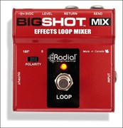 RADIAL BIGSHOT MIX EFFECTS LOOP MIXER