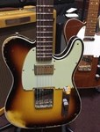 Fender CS 60's Super Faded/Aged TELECASTER® CUSTOM Ltd Ed