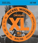 D'ADDARIO XL NICKEL WOUND ELECTRIC STRINGS 10-46