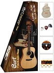 CORT AD810 NS DREADNOUGHT TRAILBLAZER PACK *Mega Deal*