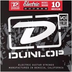 DUNLOP NICKEL WOUND ELECTRIC STRINGS 10-46