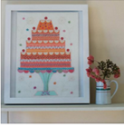 NANCY NICHOLSON CELEBRATION CAKE STITCH KIT