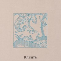PRINTED LINEN - RABBITS - The Crewel Work Company