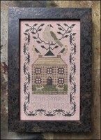 A MINATURE QUAKER SAMPLER - by Kathy Barrick