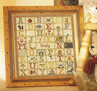 A - Z  BIRTH SAMPLER - Historical Sampler Company