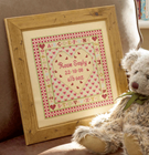 HEART BIRTH SAMPLER - Historical Sampler Company