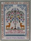 TREE OF LIFE - Moira Blackburn Traditional Sampler Charts