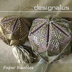 PAPER BAUBLE - Designatus Designs