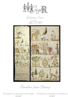SAMPLER FROM SAXONY, ATS 1871 - Gigi R Designs