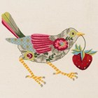 THRUSH - CREWEL EMBROIDERY KIT - Nicola Jarvis Studio
