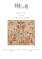 WE 1839, A SAMPLER FROM HOLLAND - Gigi R Designs,  Private Collection