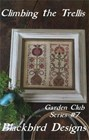 CLIMBING THE TRELLIS, Garden Club Series #7 - Blackbird Designs