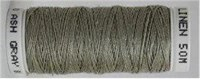 Londonderry 100% pure linen thread - 80/3 - Ash Grey #8080