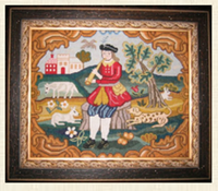 THE PIPING SHEPHERD circa 1730 - The Scarlet Letter