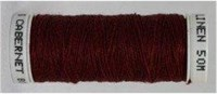 Londonderry 100% pure linen thread - 80/3 - Cabernet #8045