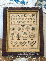 Loose Feathers 2013, Blackbird Designs, Abecedarian Series, Part Two - My Heart's Design