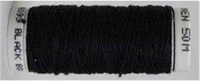 Londonderry 100% pure linen thread - 30/3 - Black #3099