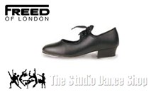 Leather Tap Shoe - low heel