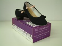 SALE - Katz Canvas Character Shoe Low Heel selected sizes only