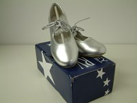 SALE - Silver Tap Shoes