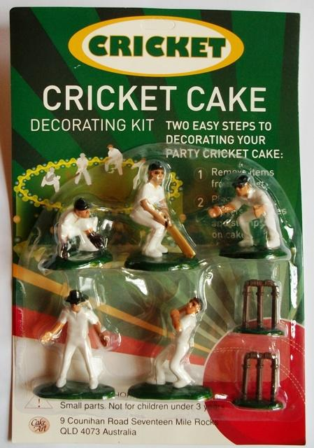 Cricket Cake Decorating Kit Uk